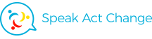 Speak Act Change Retina Logo