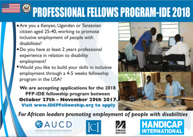 applications open for professional fellows program on inclusive