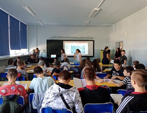 Y-PEER is visiting schools all over Bulgaria