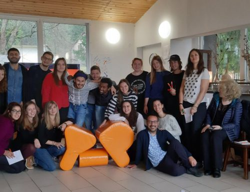"Erasmus+ training course ""Storytelling for Youth Workers: The Power of Words"""