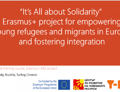 It's All about Solidarity: Fostering integration in Europe and supporting young refugees and migrants
