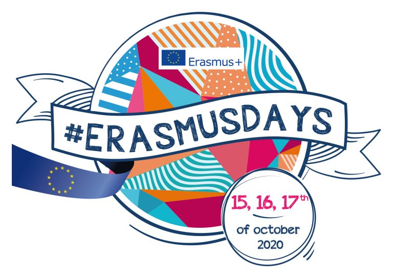 #ErasmusDays 2020: Save the Date!